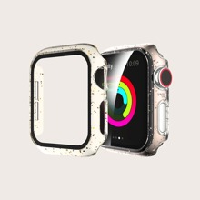 Ultra-thin Tempered Glass Clear iWatch Case
