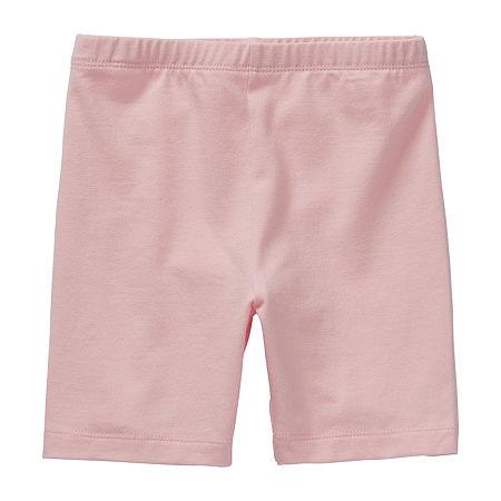 Okie Dokie Toddler Girls Bike Short, 5t , Pink
