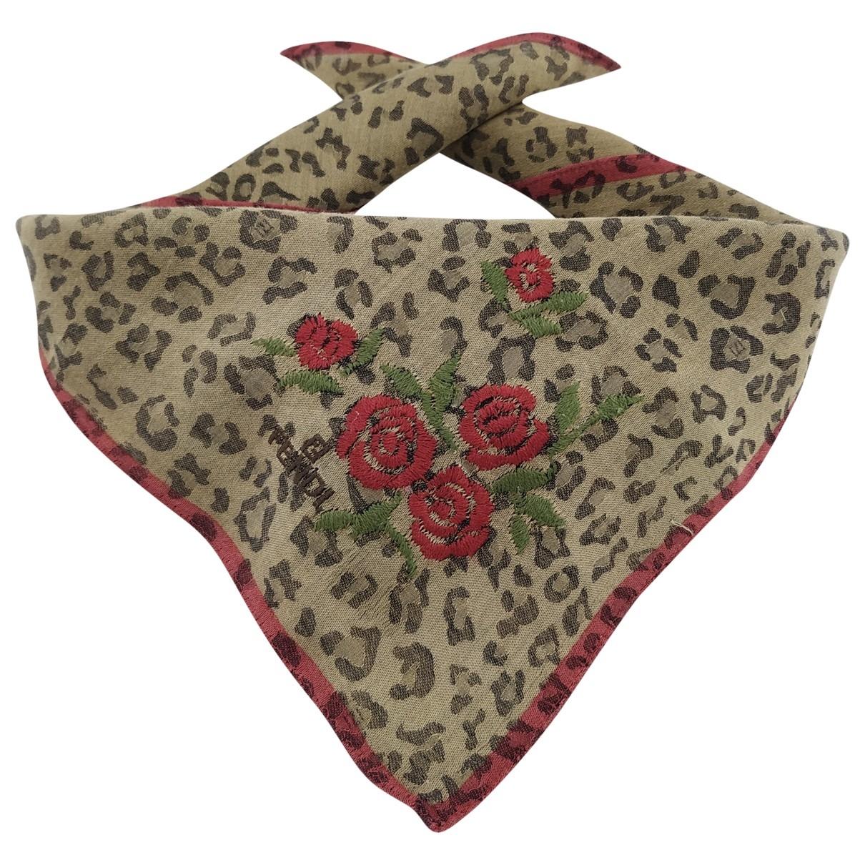 Fendi - Foulard   pour femme en coton