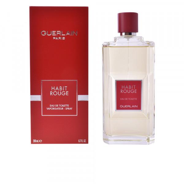 Guerlain - Habit Rouge : Eau de Toilette Spray 6.8 Oz / 200 ml
