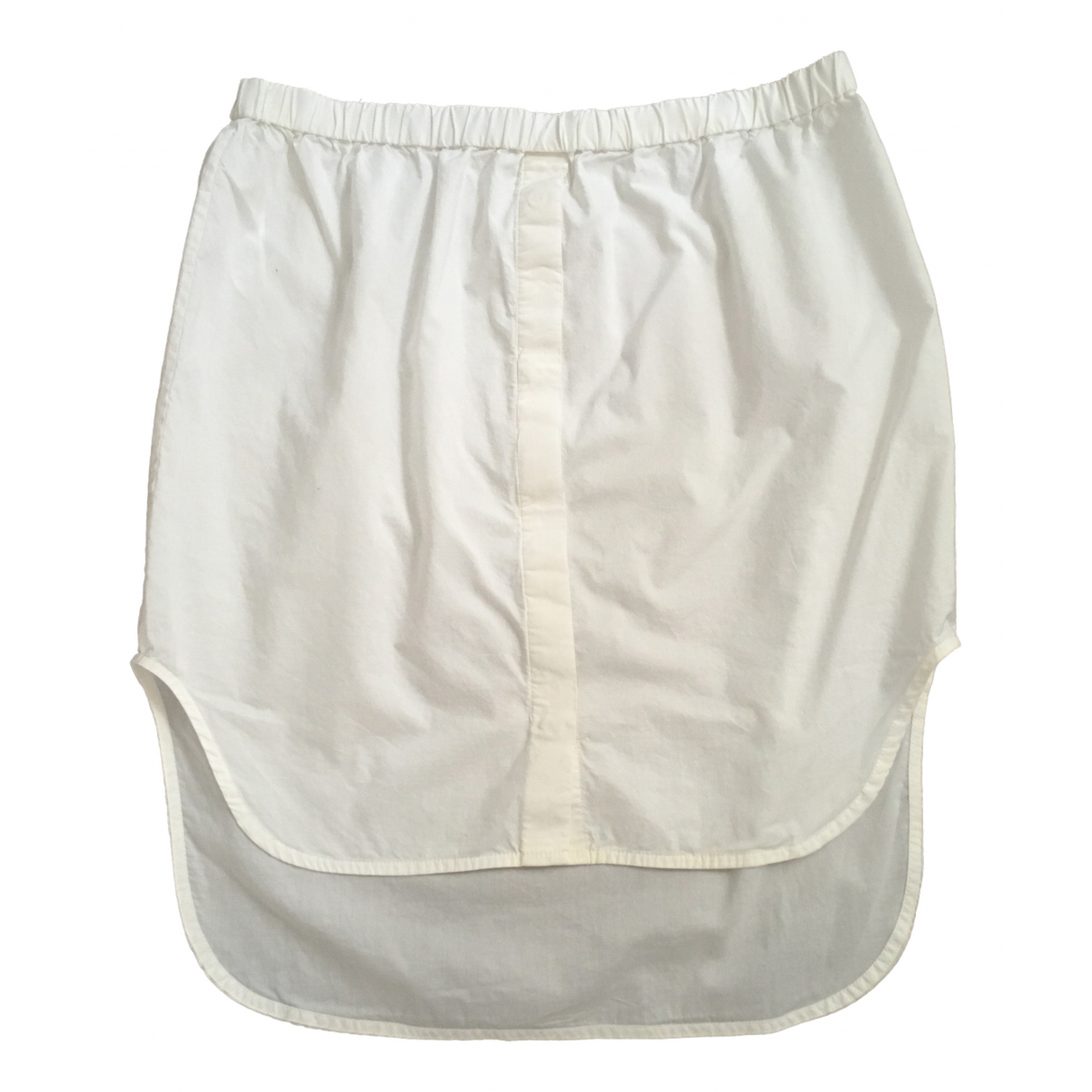 Chalayan \N White Cotton skirt for Women 44 FR