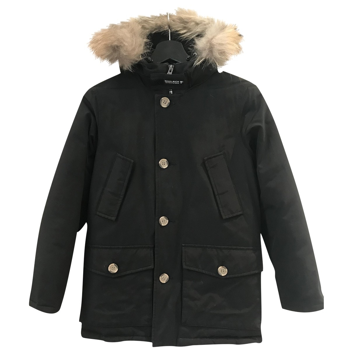 Woolrich \N Black Cotton jacket & coat for Kids 10 years - until 56 inches UK
