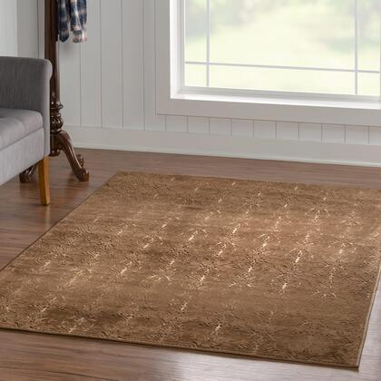 RUGEV1081 8 x 10 Rectangle Area Rug in