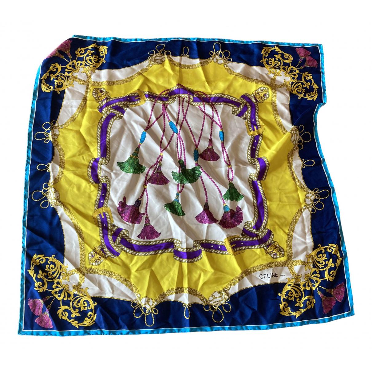 Celine N Multicolour Silk Silk handkerchief for Women N