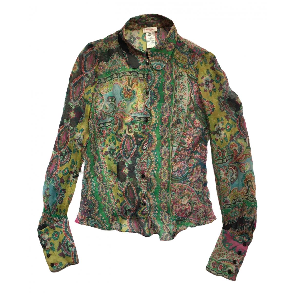 Christian Lacroix \N Multicolour Silk  top for Women 40 FR