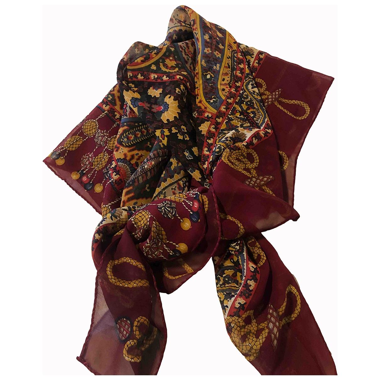 Etro \N Multicolour Silk scarf for Women \N