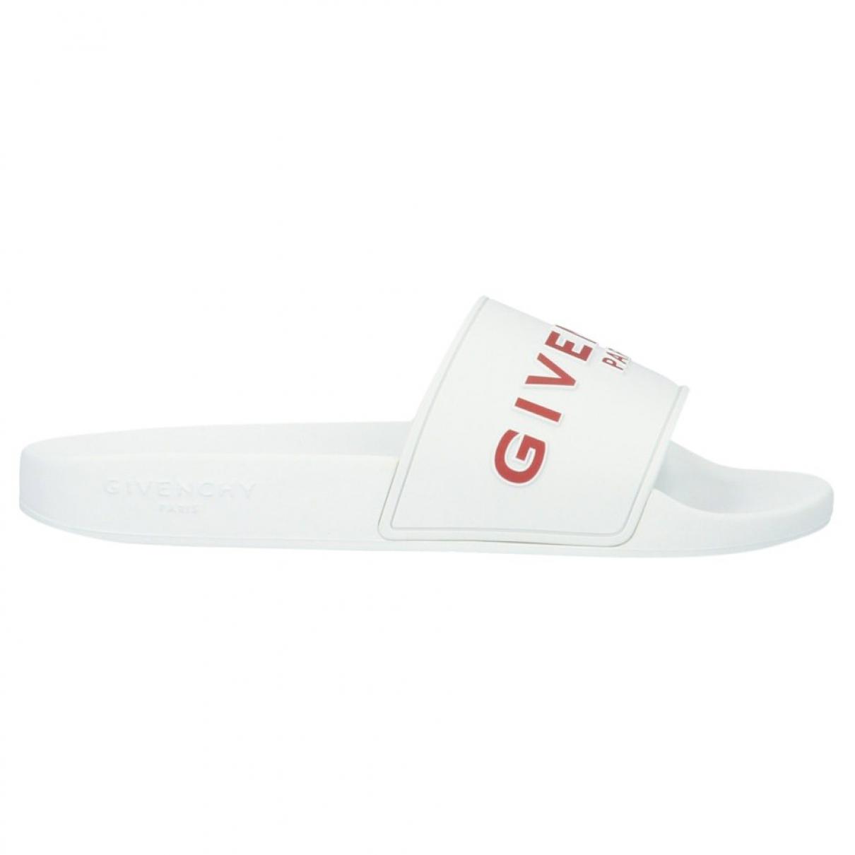 Givenchy - Sandales   pour femme en caoutchouc - blanc