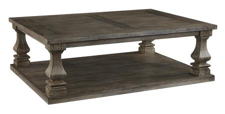 Johnelle Collection T776-1 Rectangular Cocktail Table in