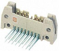 HARTING , SEK 18, 40 Way, 2 Row, Right Angle PCB Header