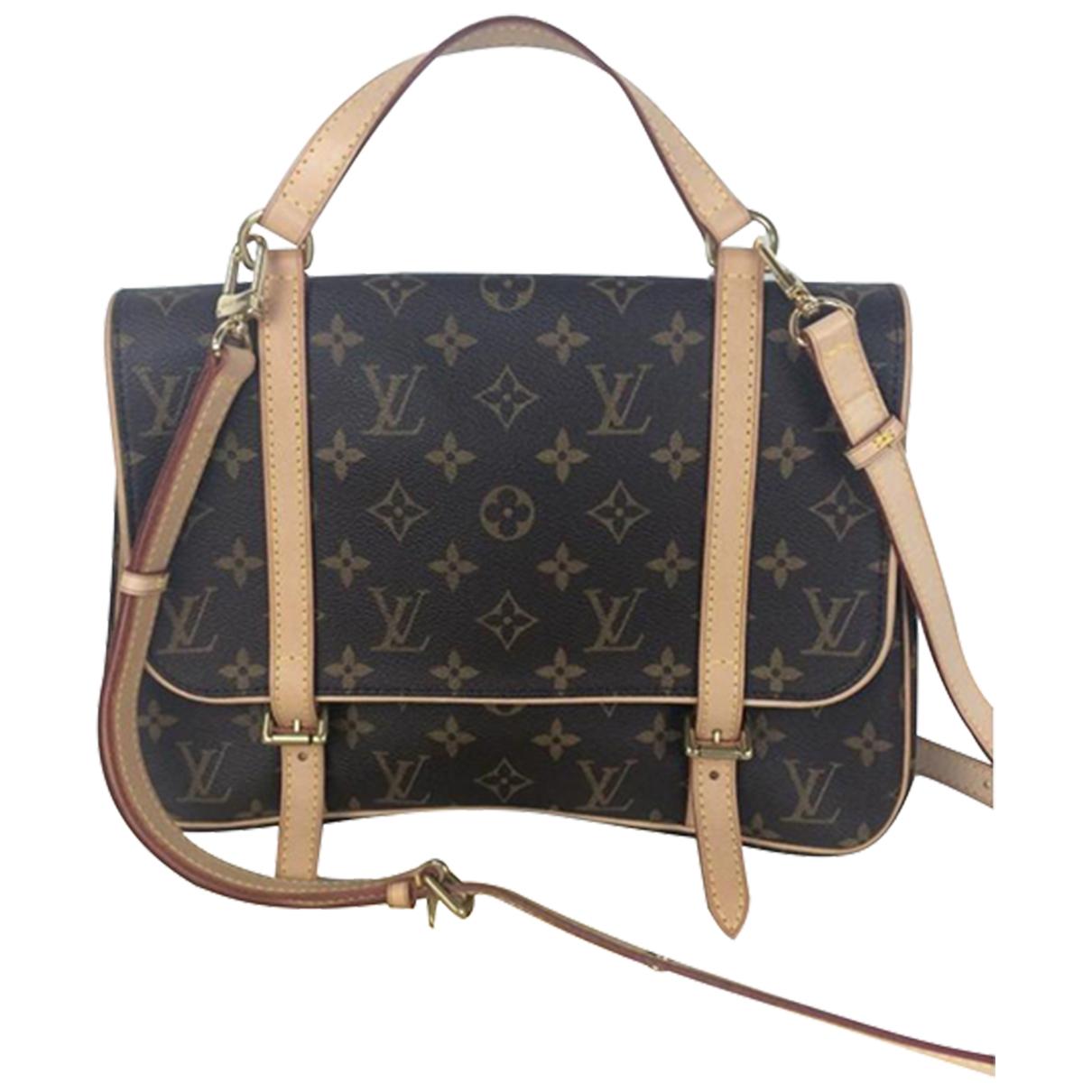 Louis Vuitton - Sac a dos Marelle  pour femme en toile - marron