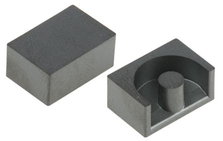 EPCOS N87 Ferrite Core, 1100nH, 11.8 x 7.85 x 10.4mm, For Use With Power Transformers (10)