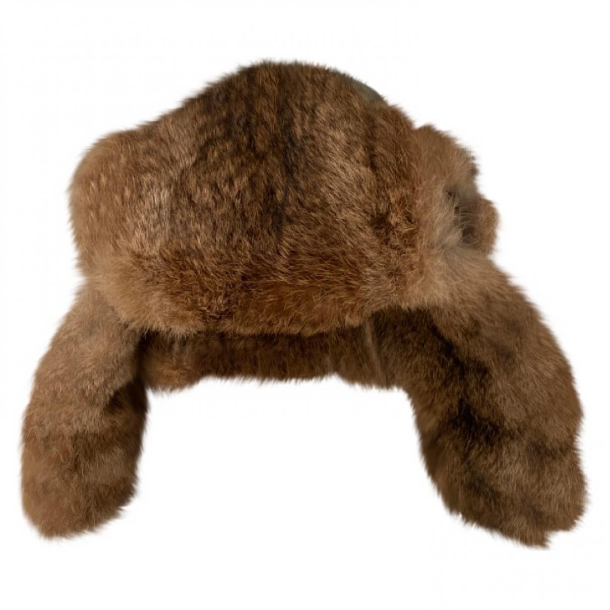 - Chapeau & Bonnets   pour homme en lapin - marine
