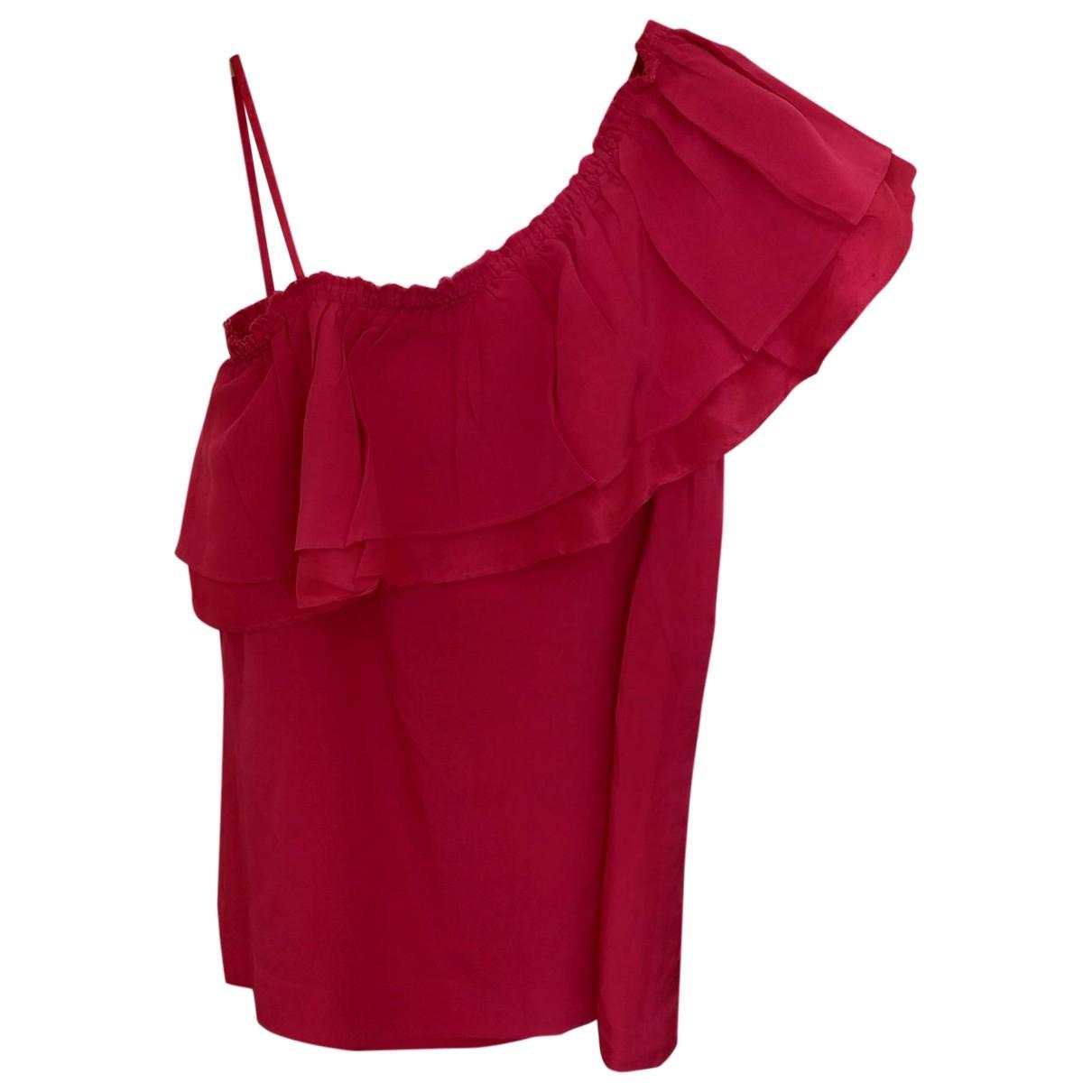 Gat Rimon - Top   pour femme en soie - rose