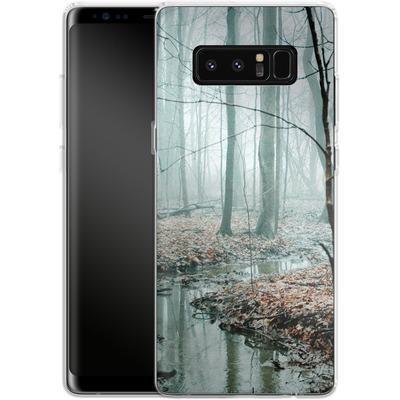 Samsung Galaxy Note 8 Silikon Handyhuelle - Gather Up Your Dreams von Joy StClaire