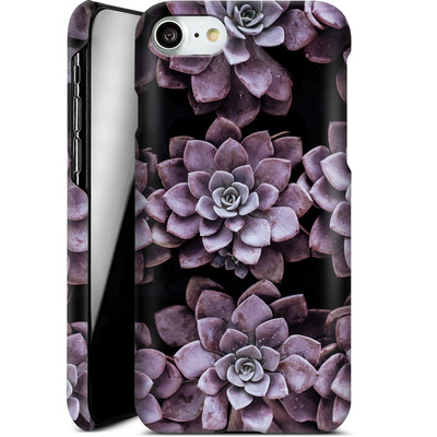 Apple iPhone 7 Smartphone Huelle - Purple Succulents von caseable Designs
