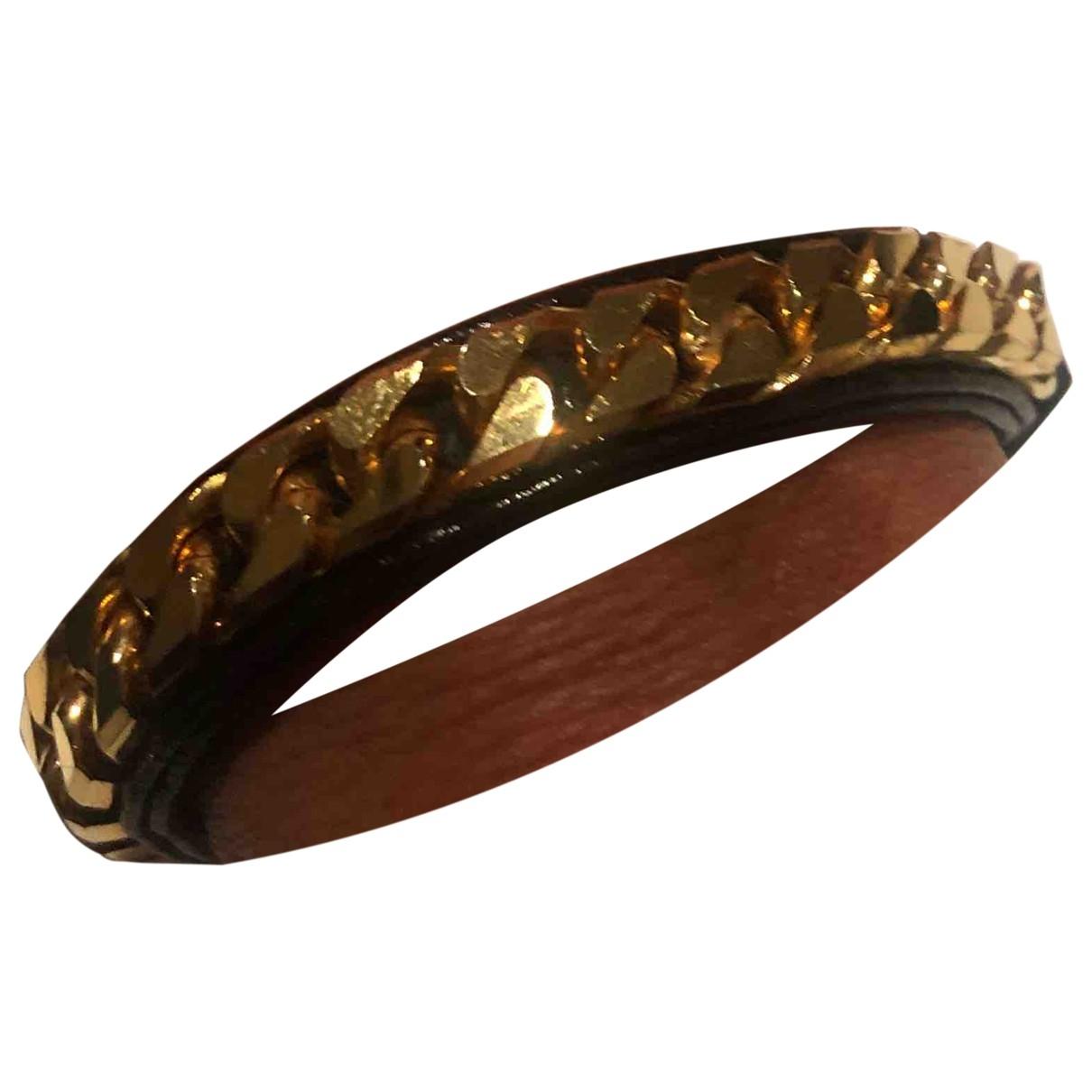 Vita Fede - Bracelet   pour femme en plaque or - noir