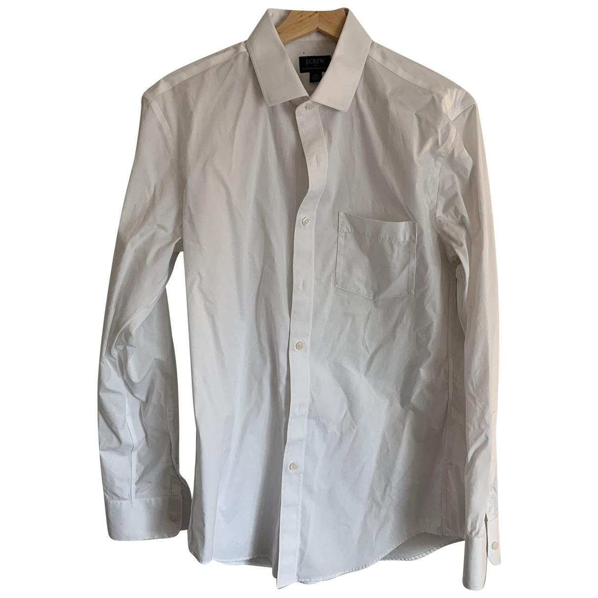 J.crew \N White Cotton Shirts for Men M International