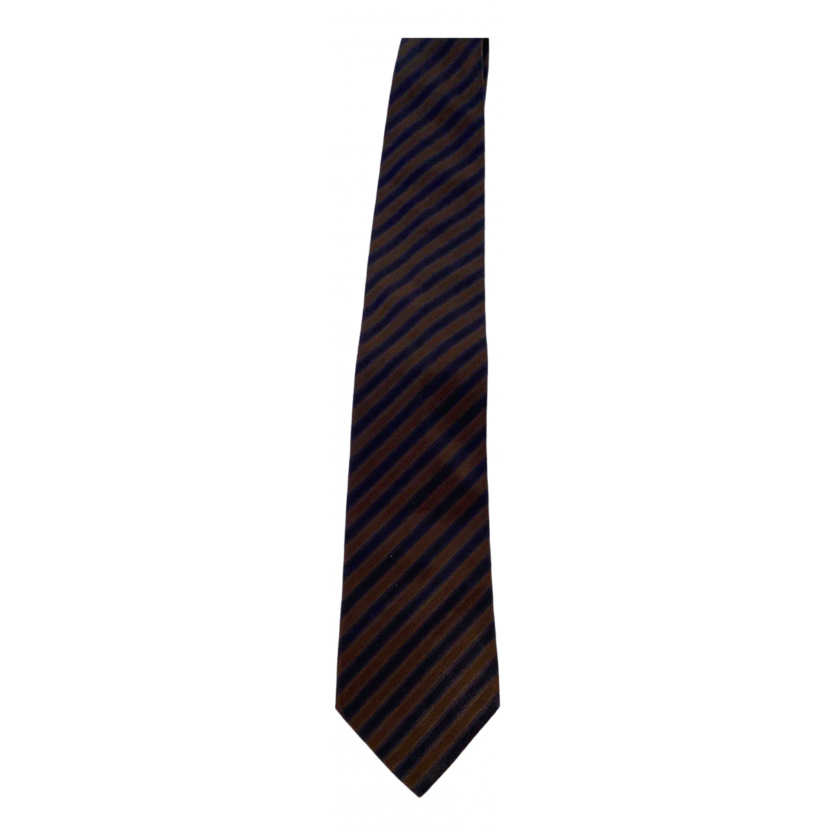 Pal Zileri - Cravates   pour homme en soie - bleu
