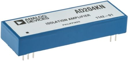 Analog Devices AD204KN , 2-Channel Isolation Amplifier, 10-Pin PDIP