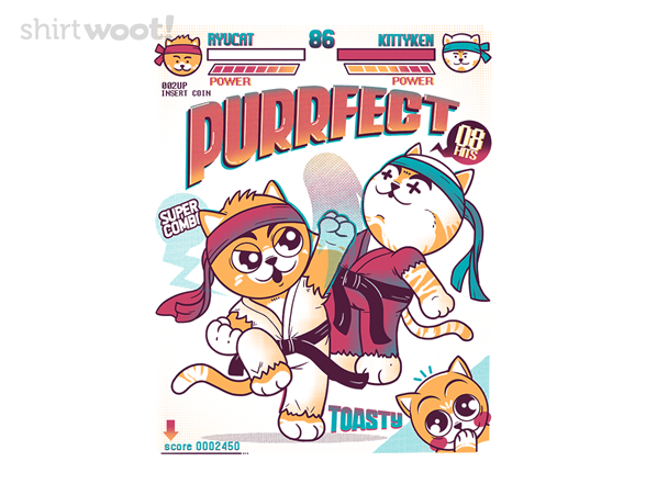 Purrfect Hit T Shirt