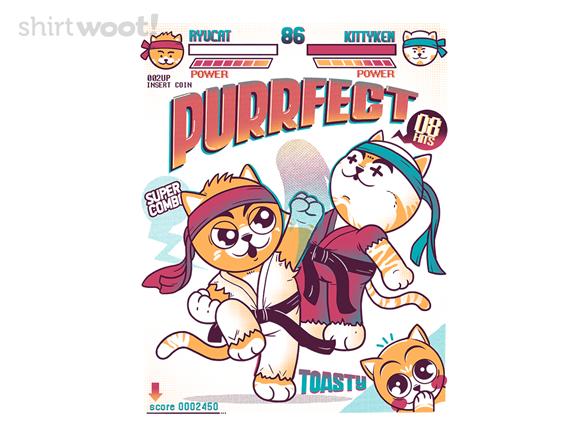 Purrfect Hit T Shirt