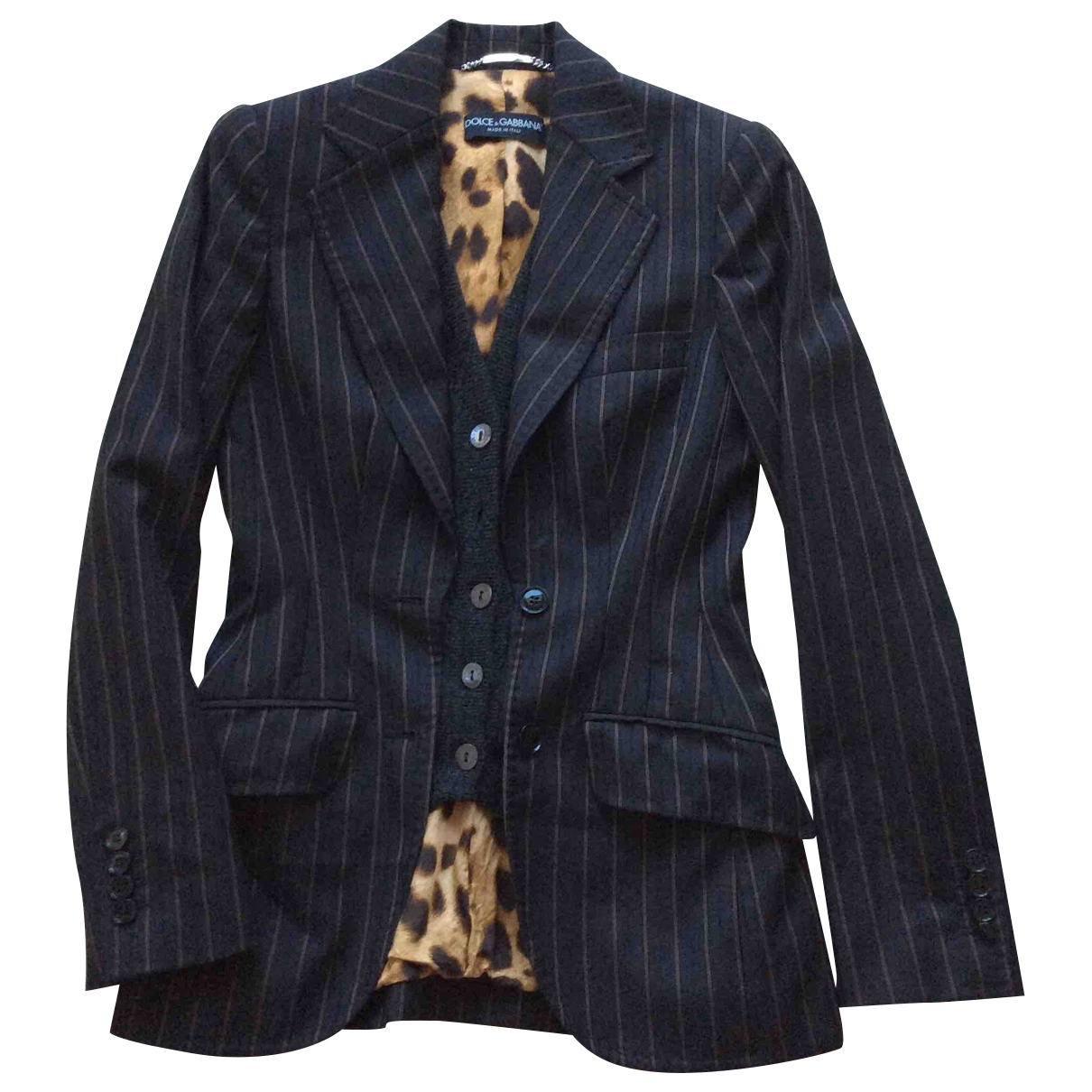 Dolce & Gabbana \N Anthracite Wool jacket for Women 40 IT