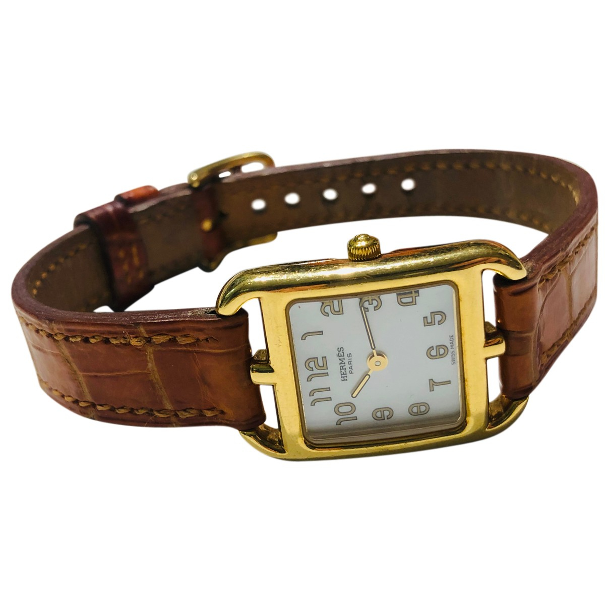 Hermes Cape Cod Uhr in  Gold Gelbgold