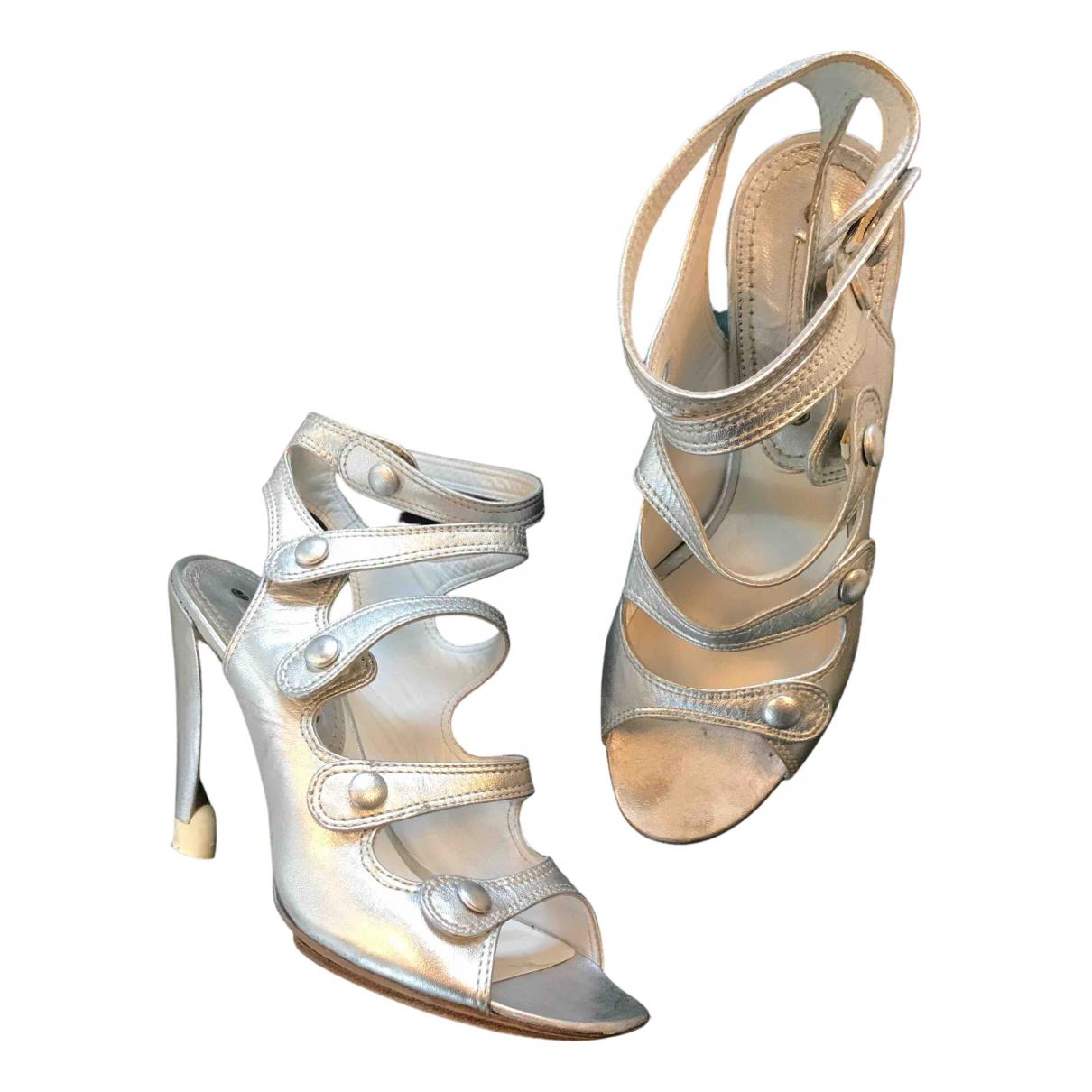 Sandalias romanas de Cuero Celine