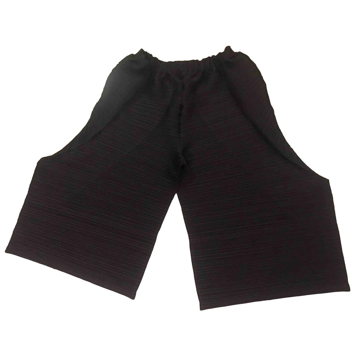 Pleats Please \N Grey Trousers for Women 3 0-5