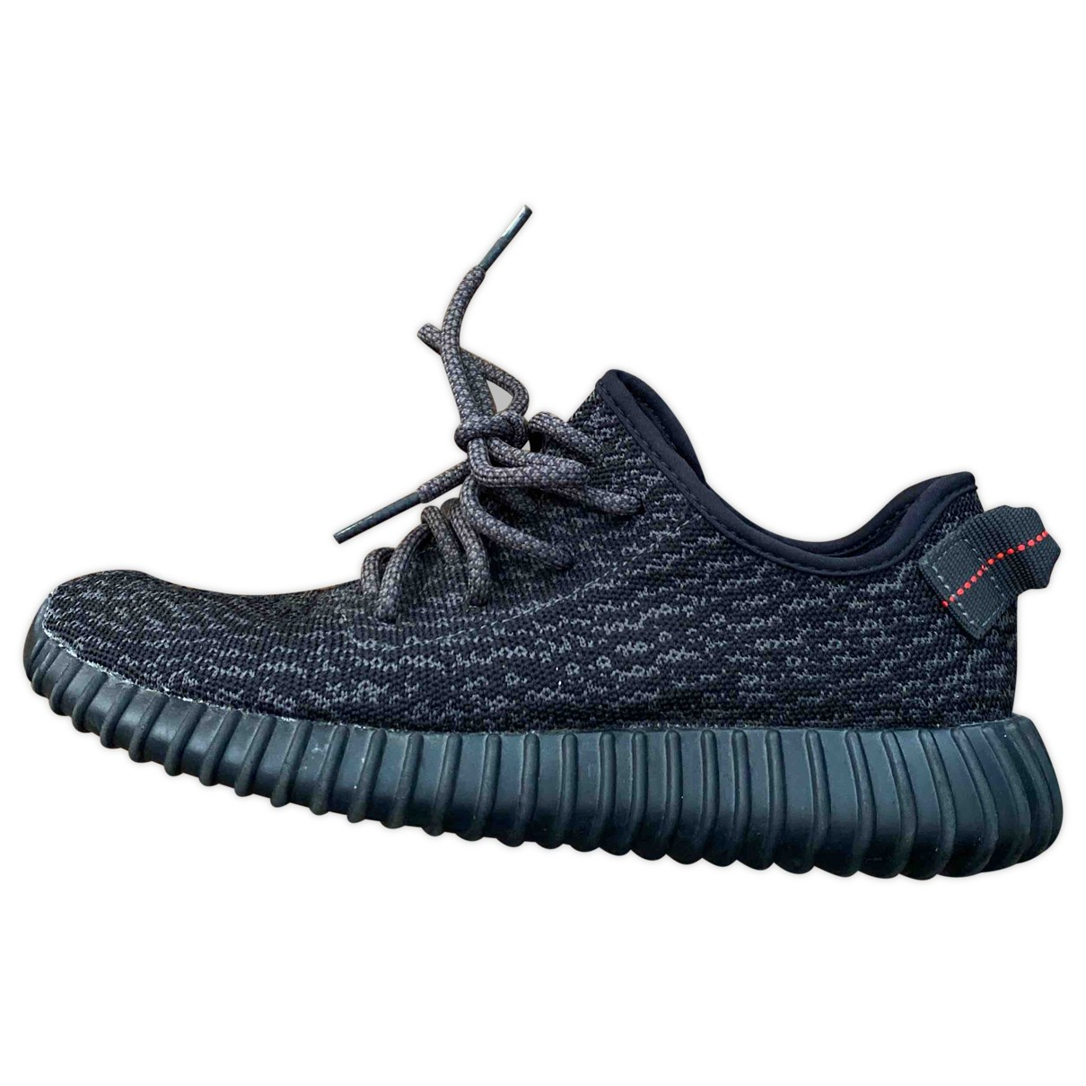 Yeezy X Adidas Boost 350 V1 Sneakers in  Schwarz Polyester