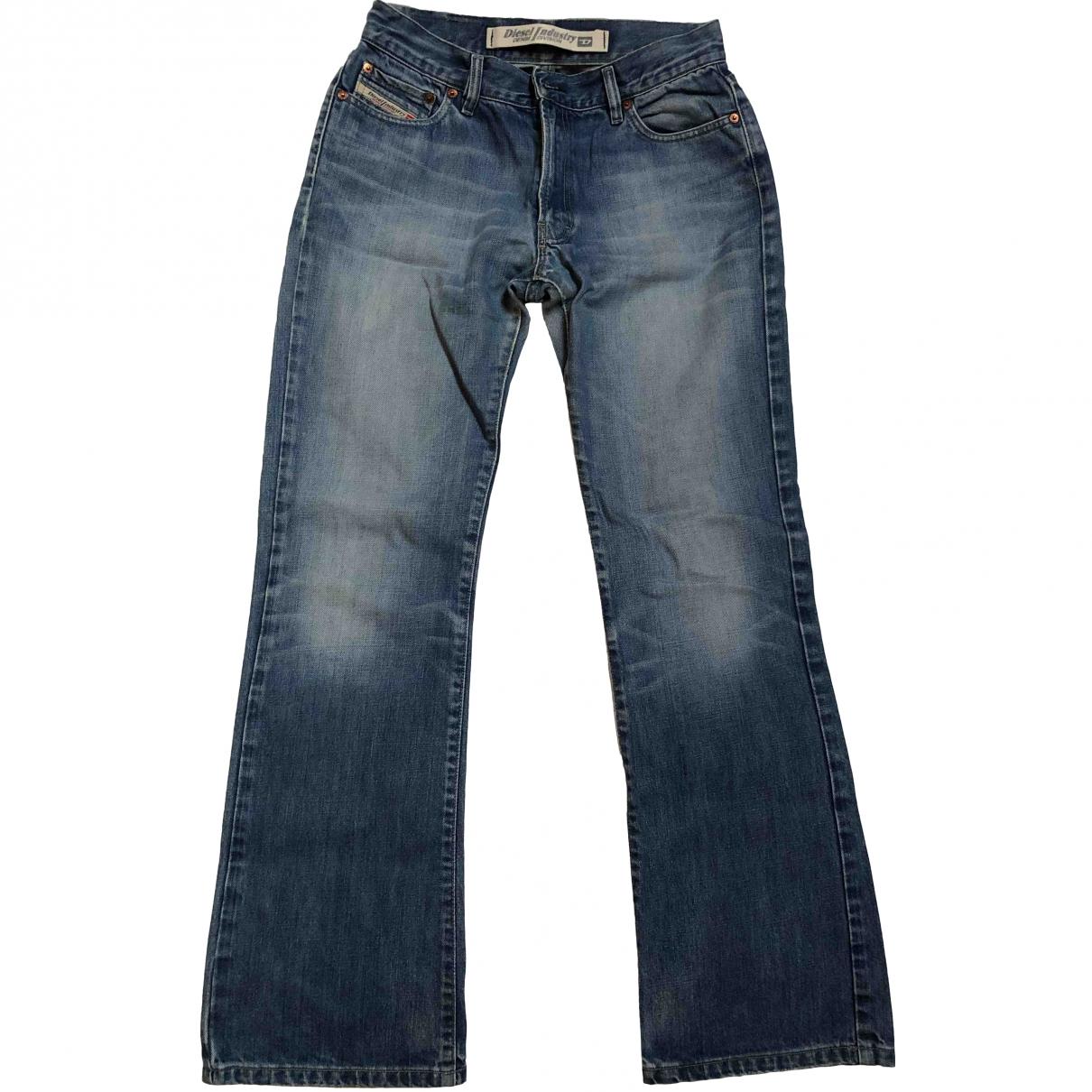 Diesel \N Blue Denim - Jeans Jeans for Women 40 FR