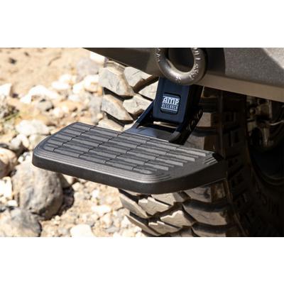 AMP-Research BedStep Bumper Step (Black) - 75321-01A