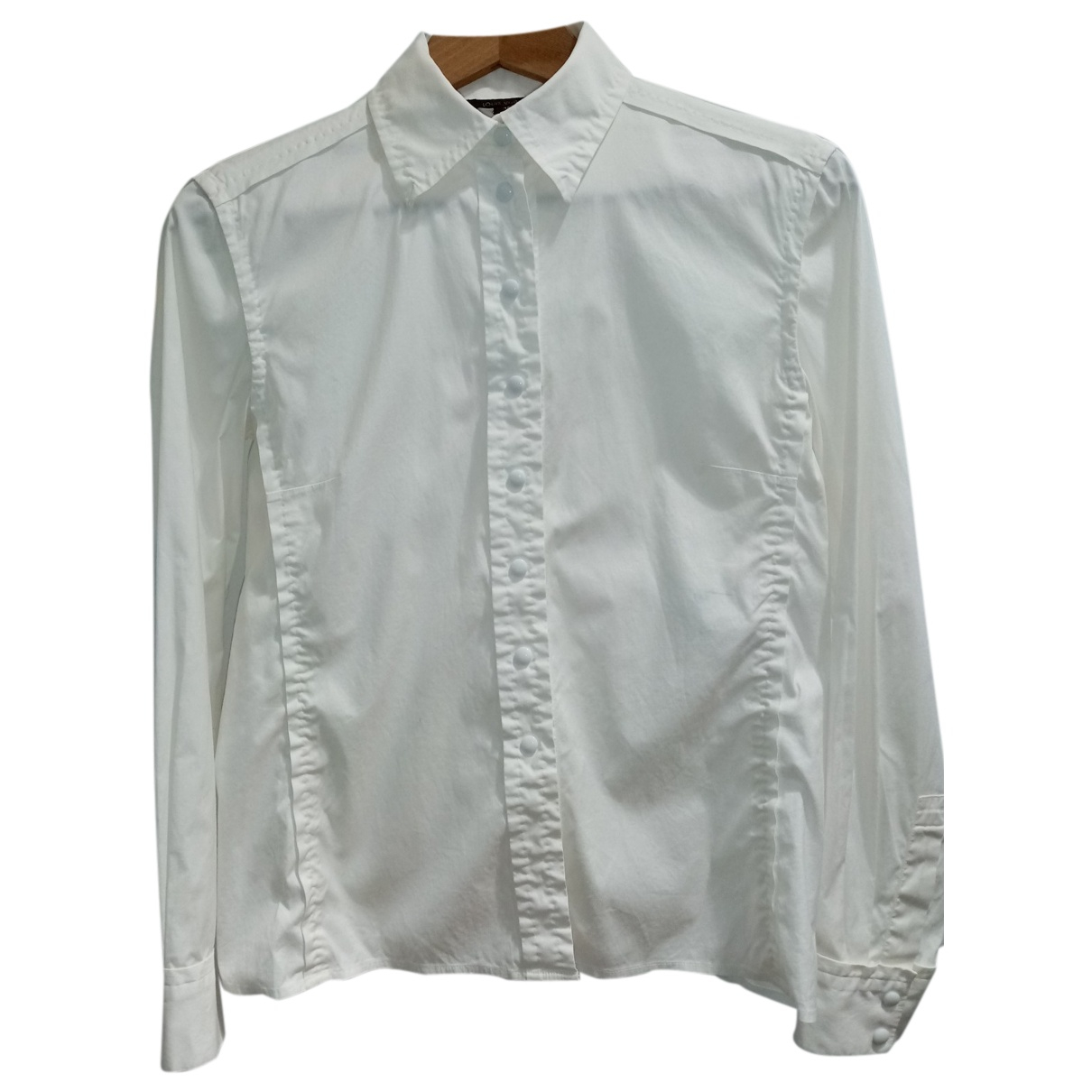 Louis Vuitton N White Cotton  top for Women 38 FR