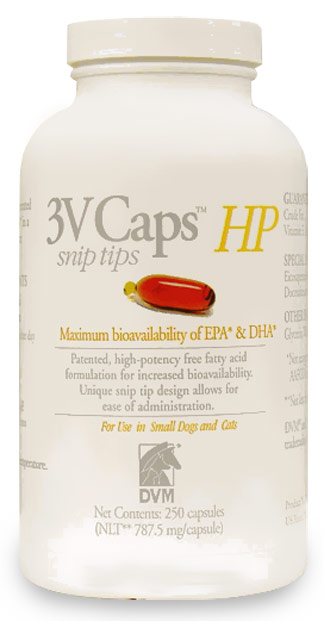 3V Caps HP Snip Tips for Smaller Dogs & Cats (250 capsule)