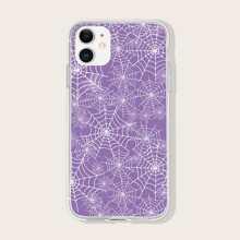 Spider Web Print iPhone Case
