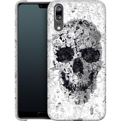 Huawei P20 Smartphone Huelle - Doodle Skull von Ali Gulec