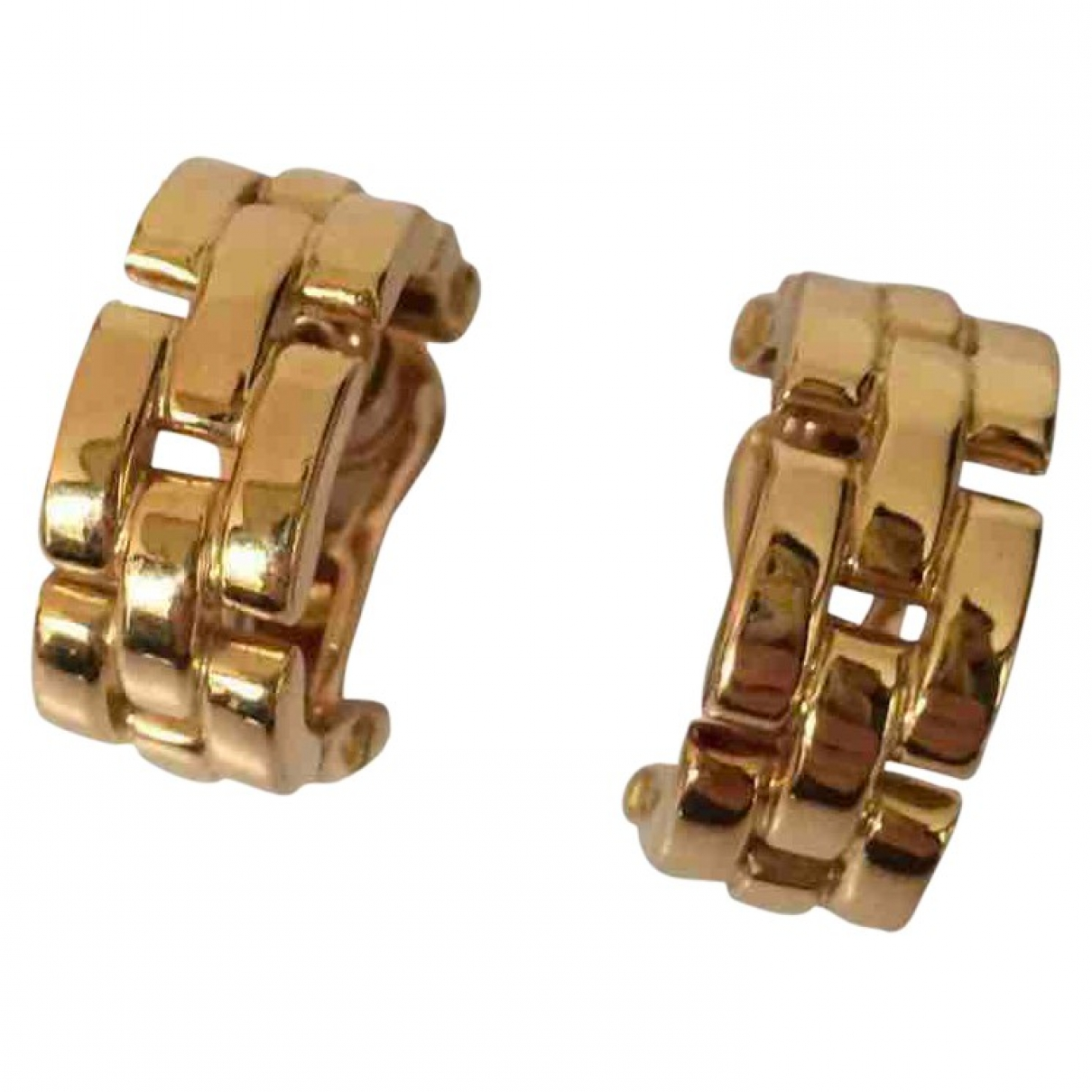 Cartier - Boucles doreilles Panthere pour femme en or jaune - dore