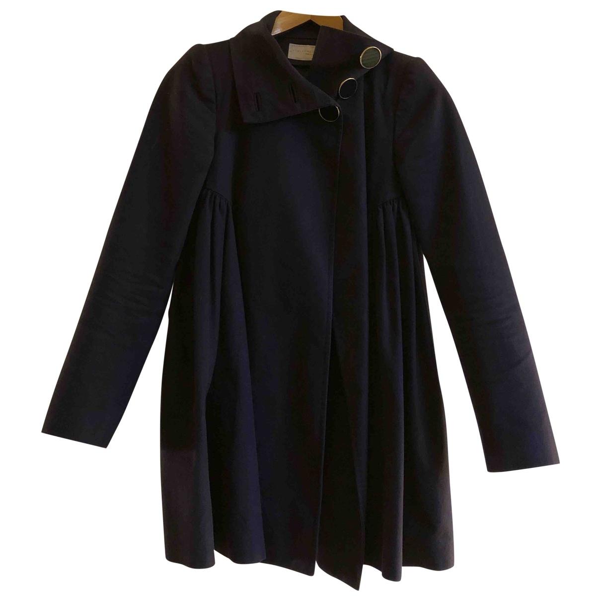 Stella Mccartney \N Navy Cotton jacket for Women 36 FR