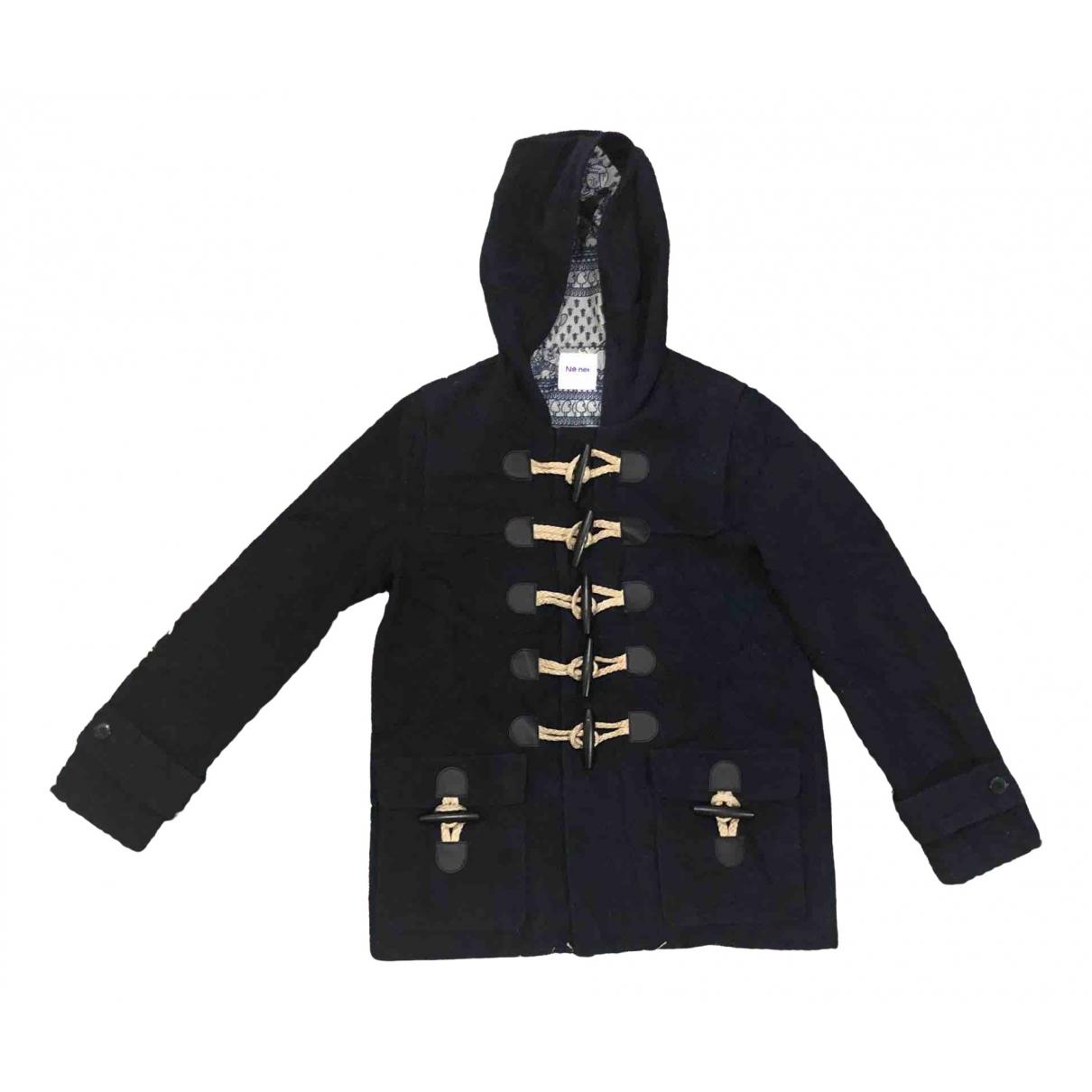 Ne.net - Manteau   pour homme en laine - noir