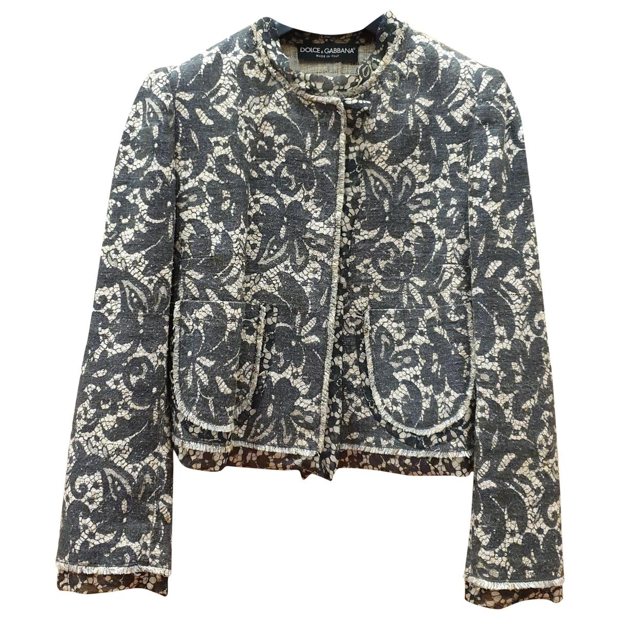 Dolce & Gabbana \N Jacke in  Bunt Seide