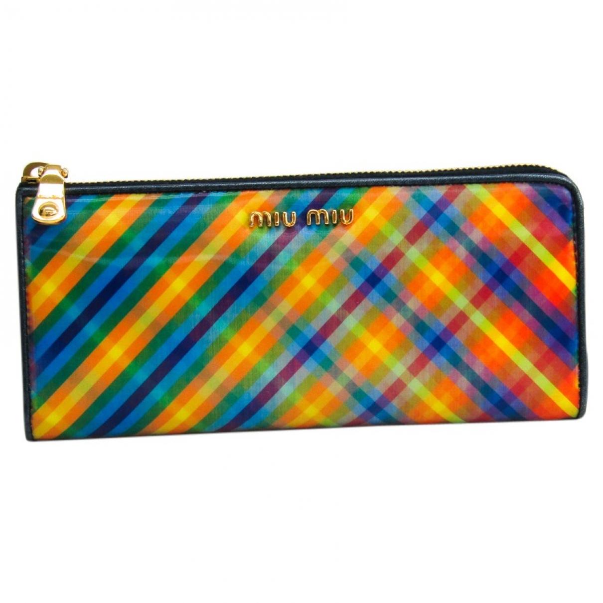 Miu Miu \N Multicolour Leather wallet for Women \N