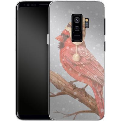 Samsung Galaxy S9 Plus Silikon Handyhuelle - First Snow von Terry Fan