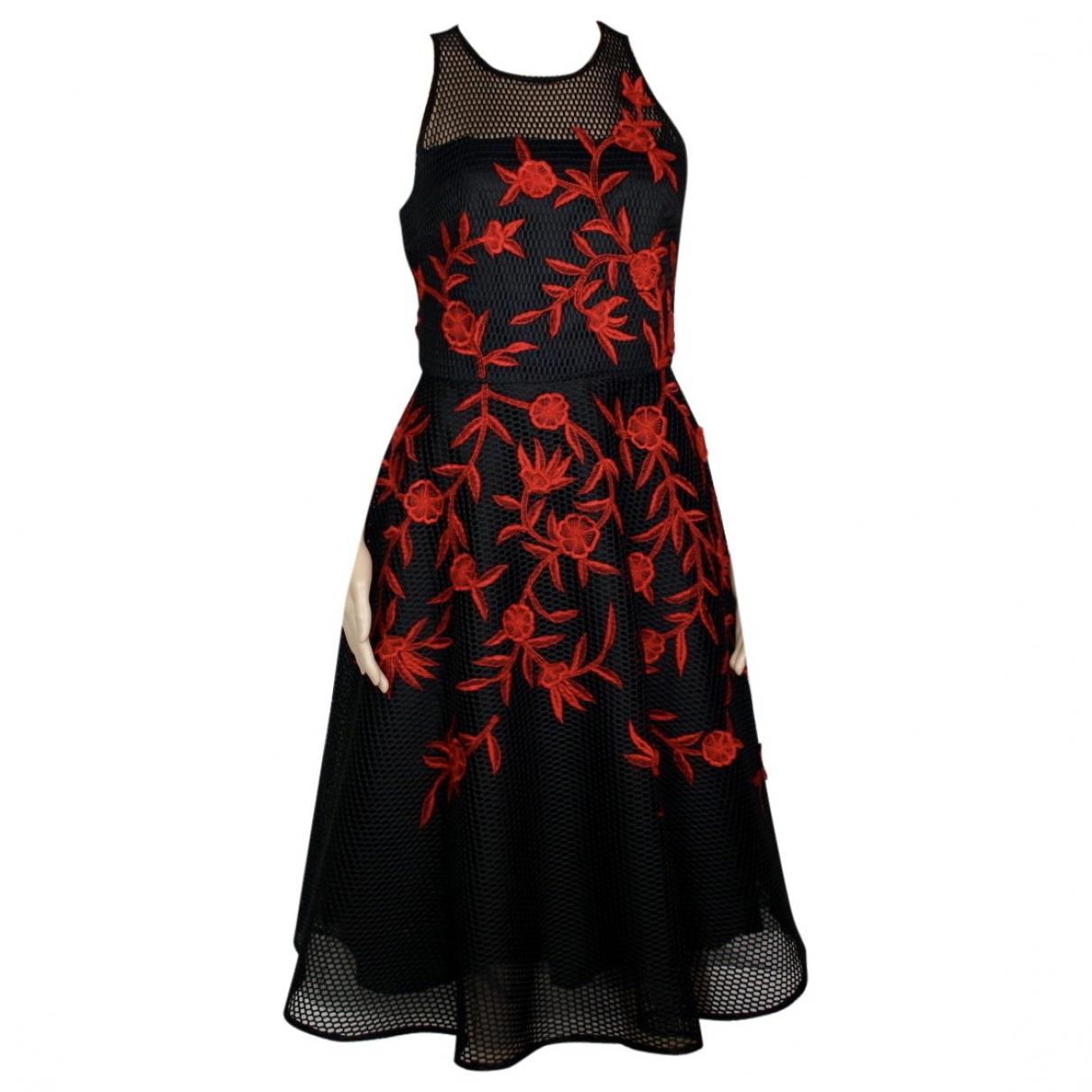 Sachin + Babi \N Kleid in  Schwarz Baumwolle