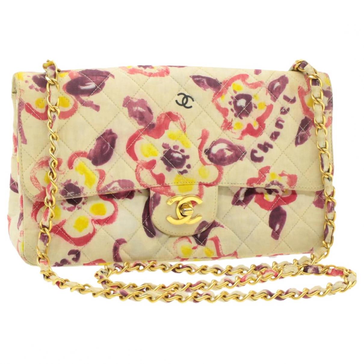 Chanel \N White Cloth handbag for Women \N