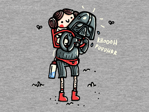 The Dark Side Of Hiking T Shirt