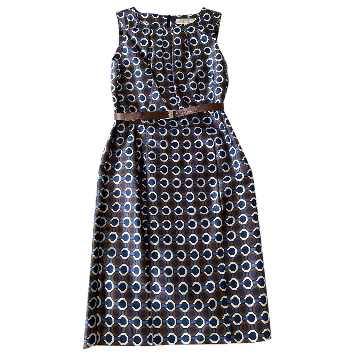 Michael Kors N Blue Silk dress for Women 2 US