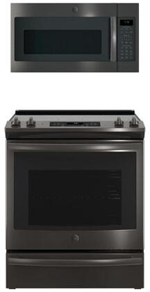2-Piece Kitchen Appliance Package with JS760BLTS 30