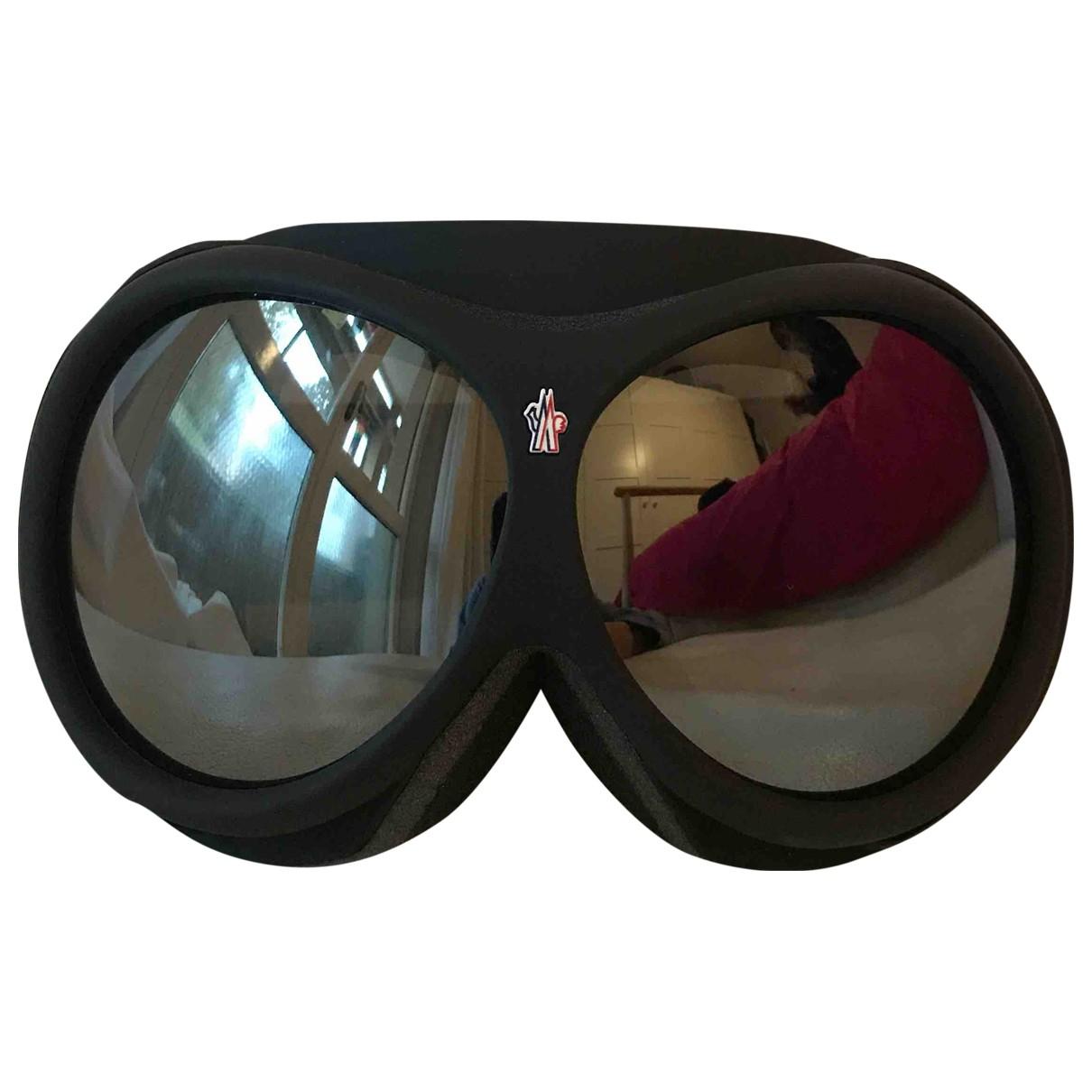 Moncler N Black Sunglasses for Men N