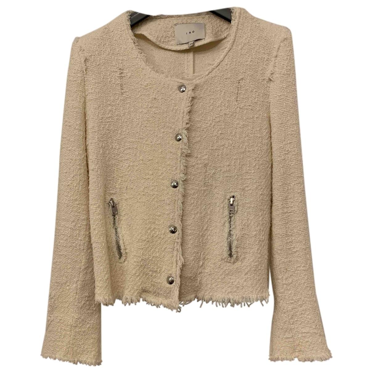 Iro - Veste   pour femme en coton - blanc
