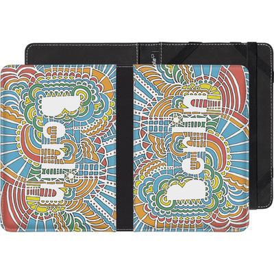 Sony Reader PRS-T3 eBook Reader Huelle - Berlin Blue von Kaitlyn Parker